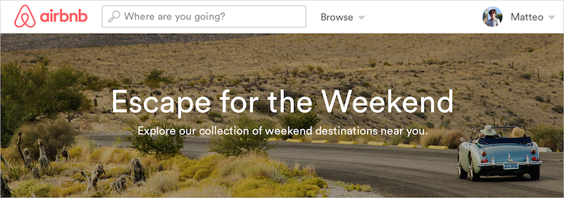 travel plan weekend getaway