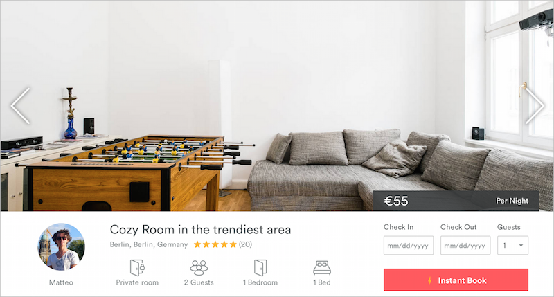 Airbnb Berlin - Cozy Room in the trendiest area