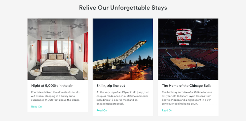 Airbnb - Revive Unforgettable Stays